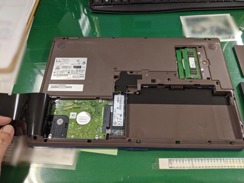 HDDとSSDにアクセスできます
